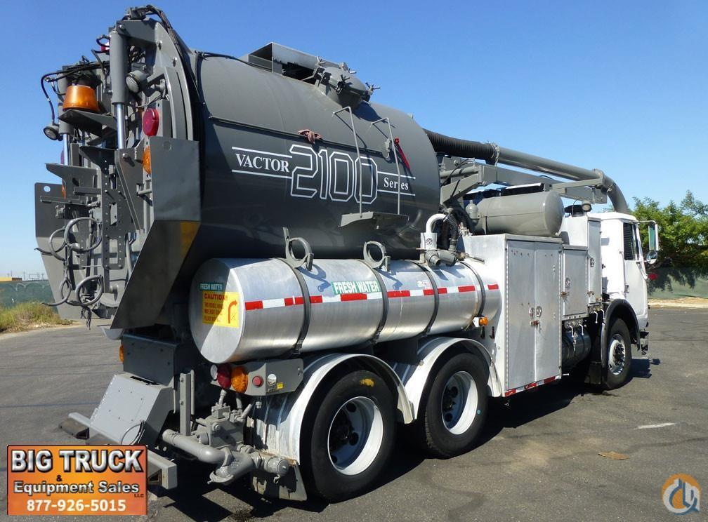 2003 Volvo WG56 Vactor 2110-HR80 Vacuum Truck Vacuum Truck  Trailers VOLVO WG64 Big Truck amp Equipment Sales LLC 18961 on CraneNetwork.com